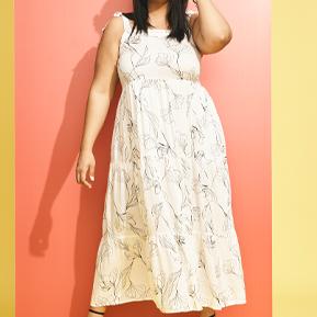 Plus Maxi Dresses