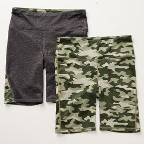 Girls 2-Pack Bike Shorts