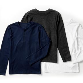 Boys 3pk Long Sleeve Shirts
