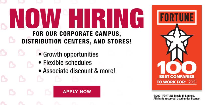 Burlington is now hiring!