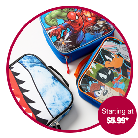 Kids Lunch Totes