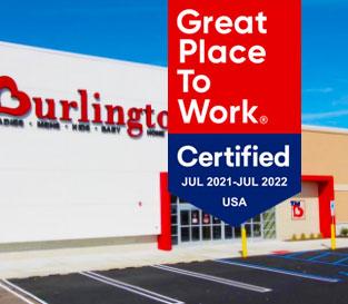 Our workplace: Burlington certification