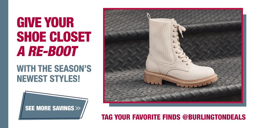 Fall Boots at Burlington!