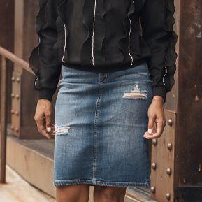 Ladies Denim Skirts